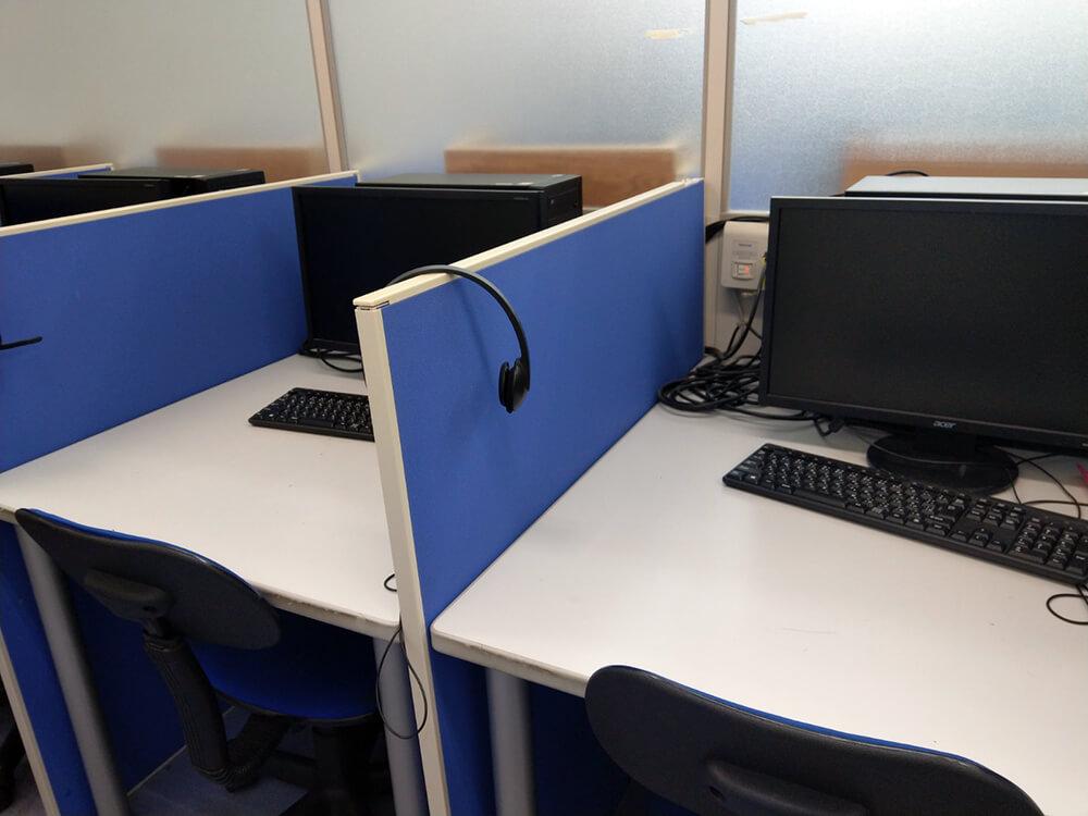 映像授業用のパソコン