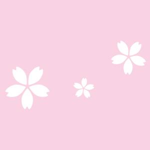 桜のピンクのイメージ